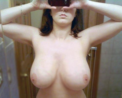big tits cellphone